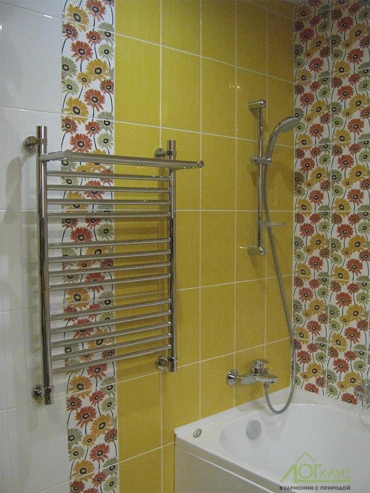 Ванная комнат в загородном доме