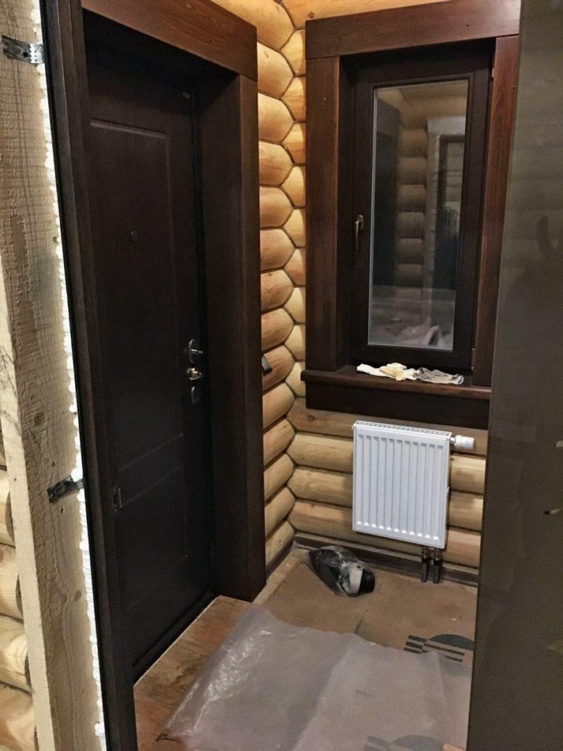 Внутренняя отделка дома из ОЦБ