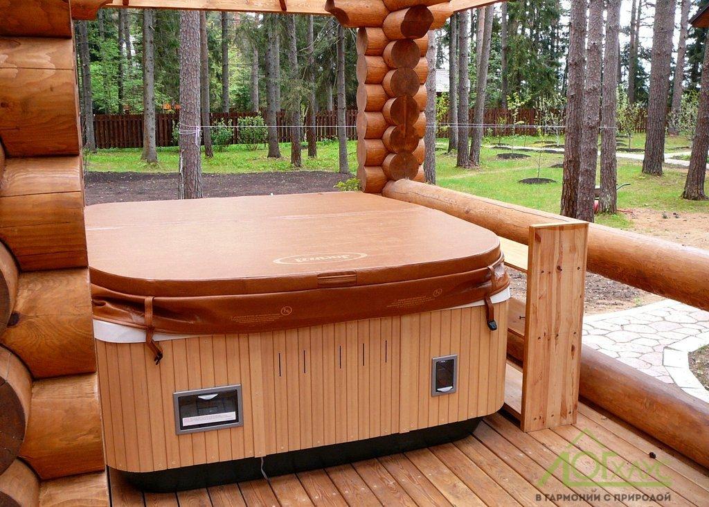 Гидромассажная ванна с подогревом