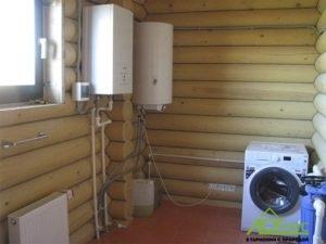 Монтаж электрического котла в деревянном доме