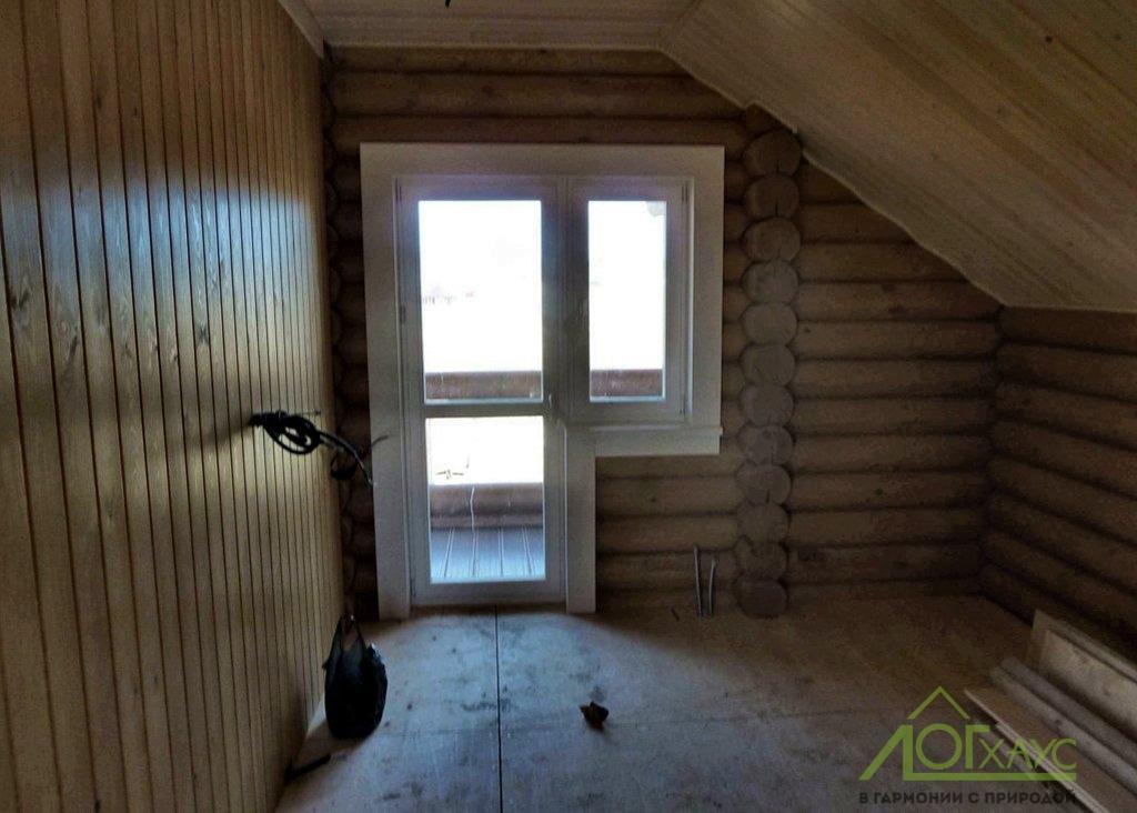 Внутренняя отделка мансарды деревянного дома