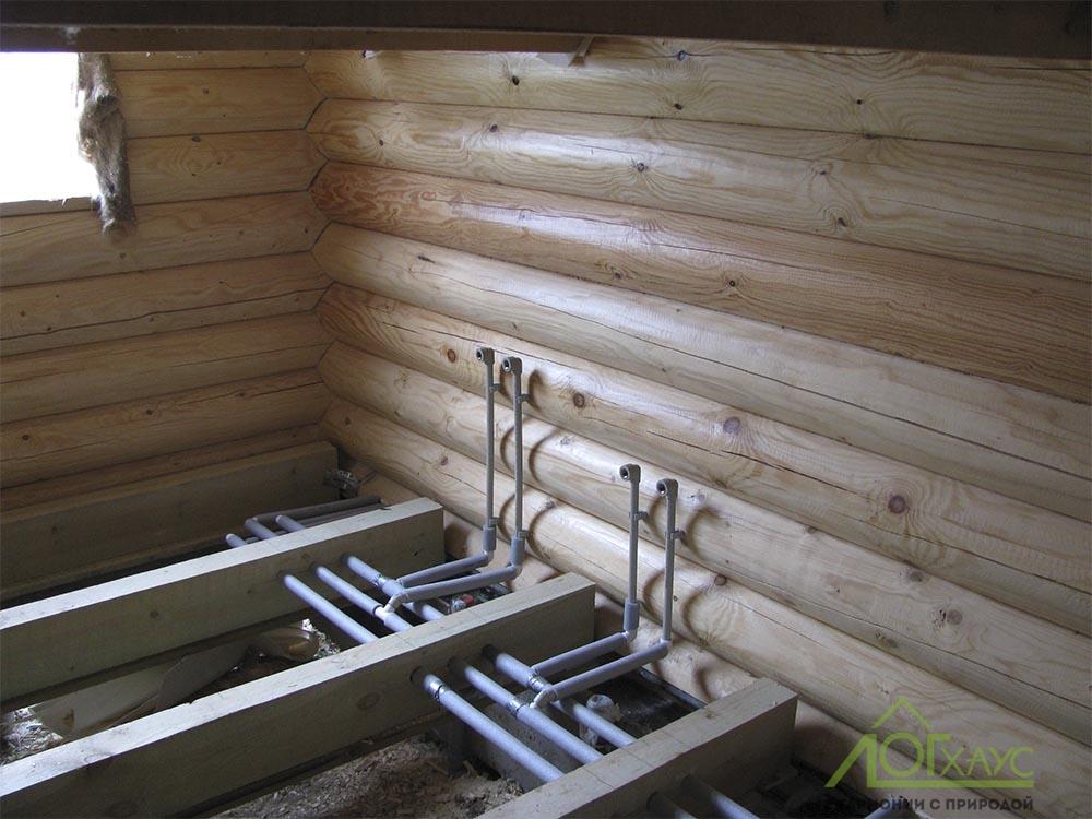 Разводка труб водоснабжения по дому
