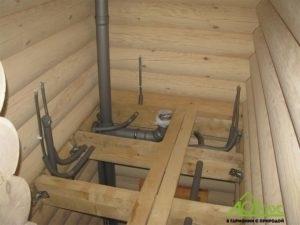 Водоснабжение и канализация, проведенные на второй этаж