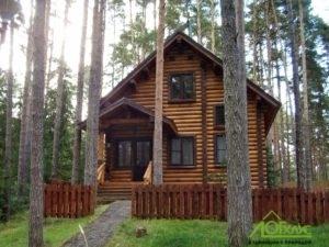 Строительство дома из ОЦБ для загородного дома отдыха