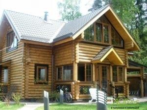 Строительство дома из ОЦБ с полной отделкой