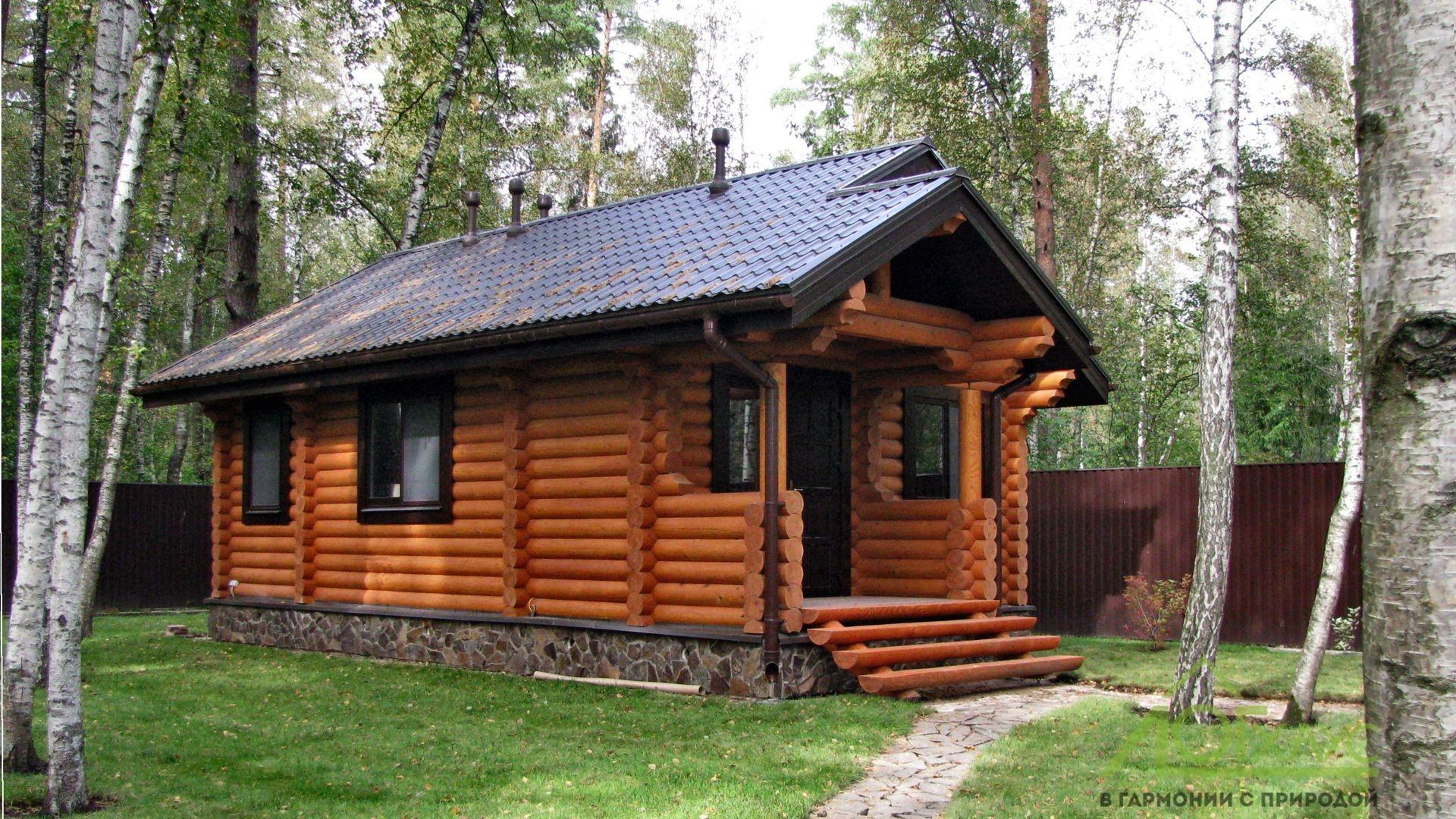 Дом из ОЦБ с отделкой