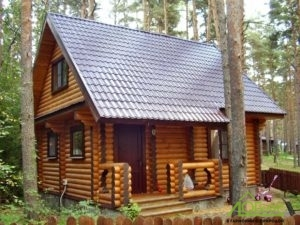 Полная отделка деревянного дома