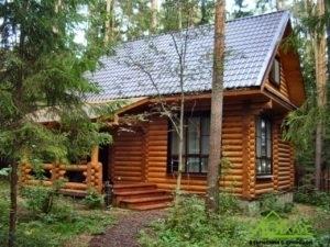 Строительство и отделка дома из бревна