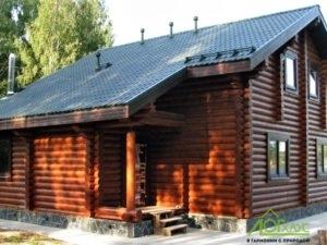 Строительство индивидуального проекта дома из оцилиндрованного бревна
