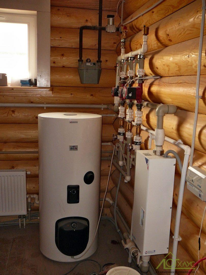 Монтаж отопительных систем в загородном доме