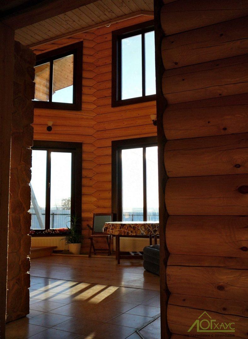 Второй свет в деревянном загородном доме