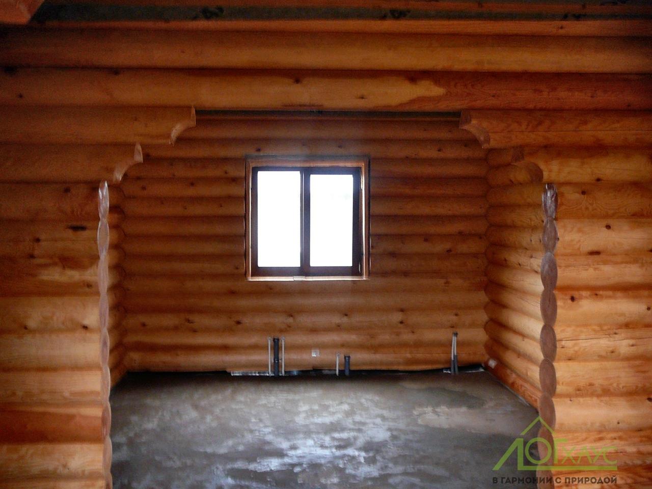 Внутренняя отделка дома деревянного