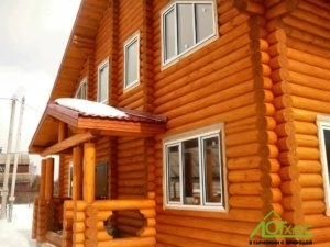 Деревянный дом из ОЦБ