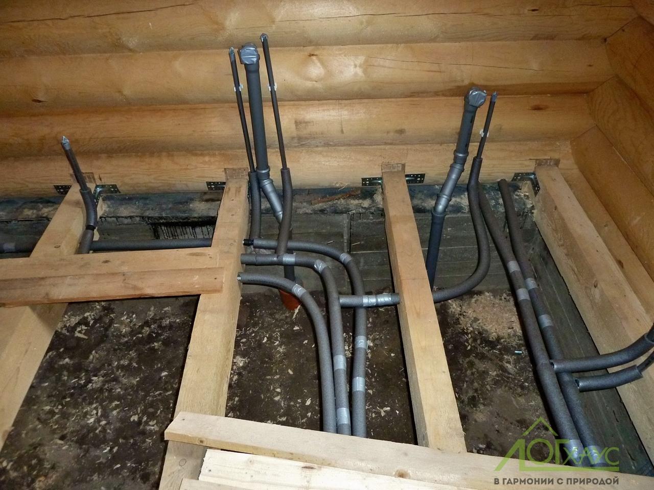 Устройство водоснабжения и канализации в загородном доме