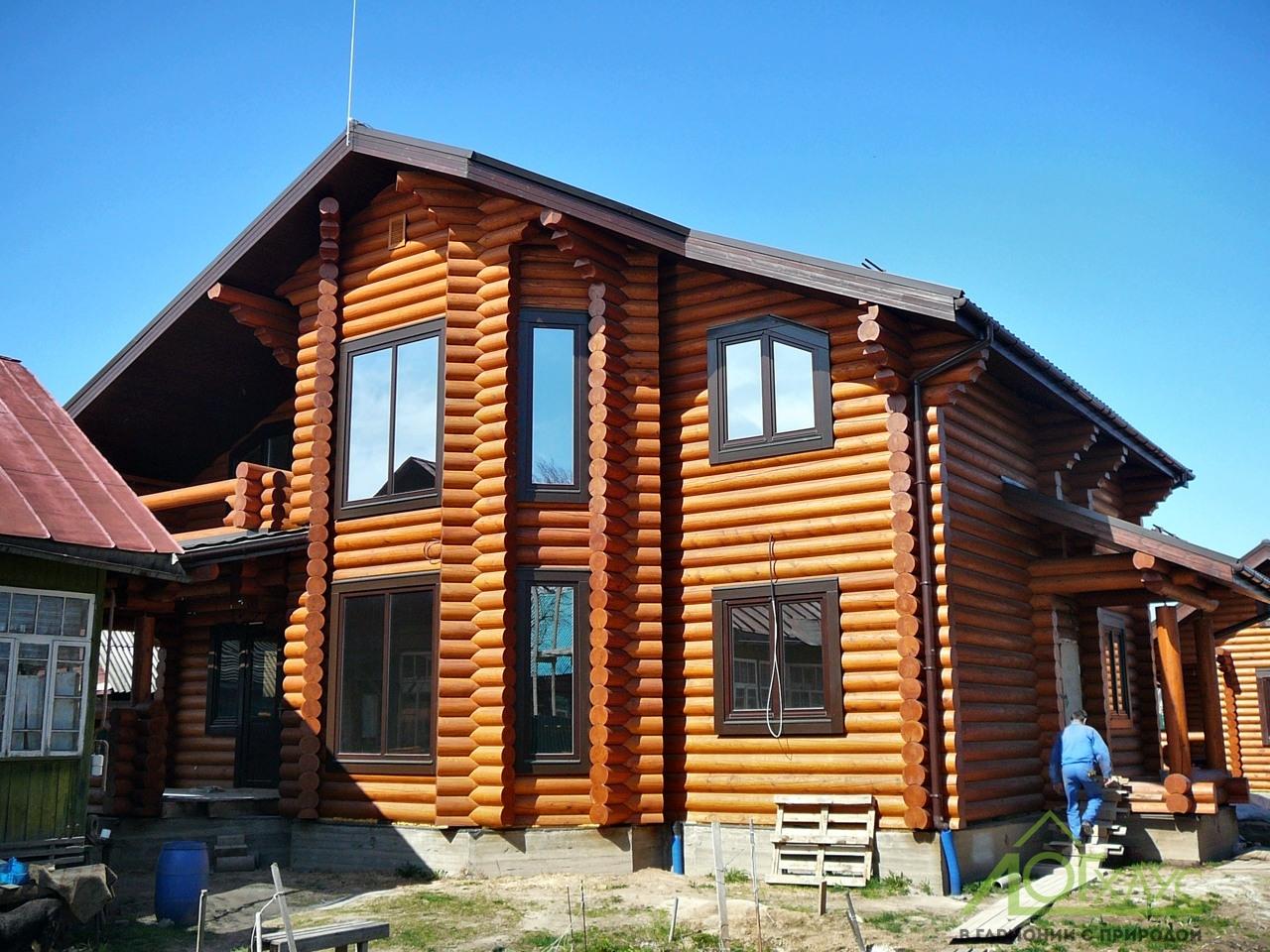Дом 285 в процессе отделки и строительства