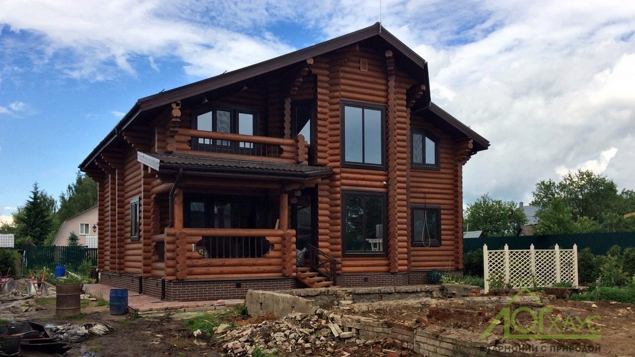 Дом 285 полностью отделанный и сданный заказчику