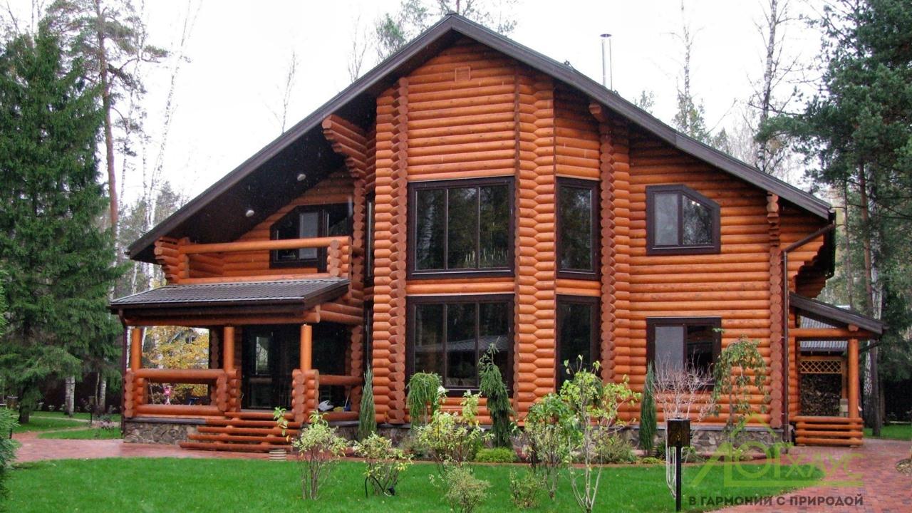 Элитный бревенчатый дом