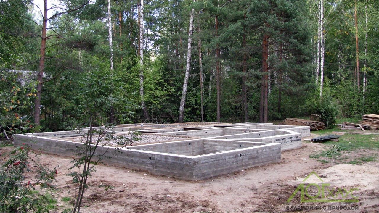 "Установка ленточного фундамента для деревянного дома ""под ключ"""