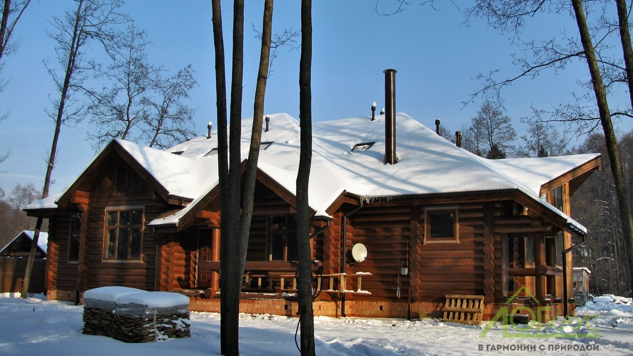 Дом из бревна для большой семьи 350 кв.м_374 (11)