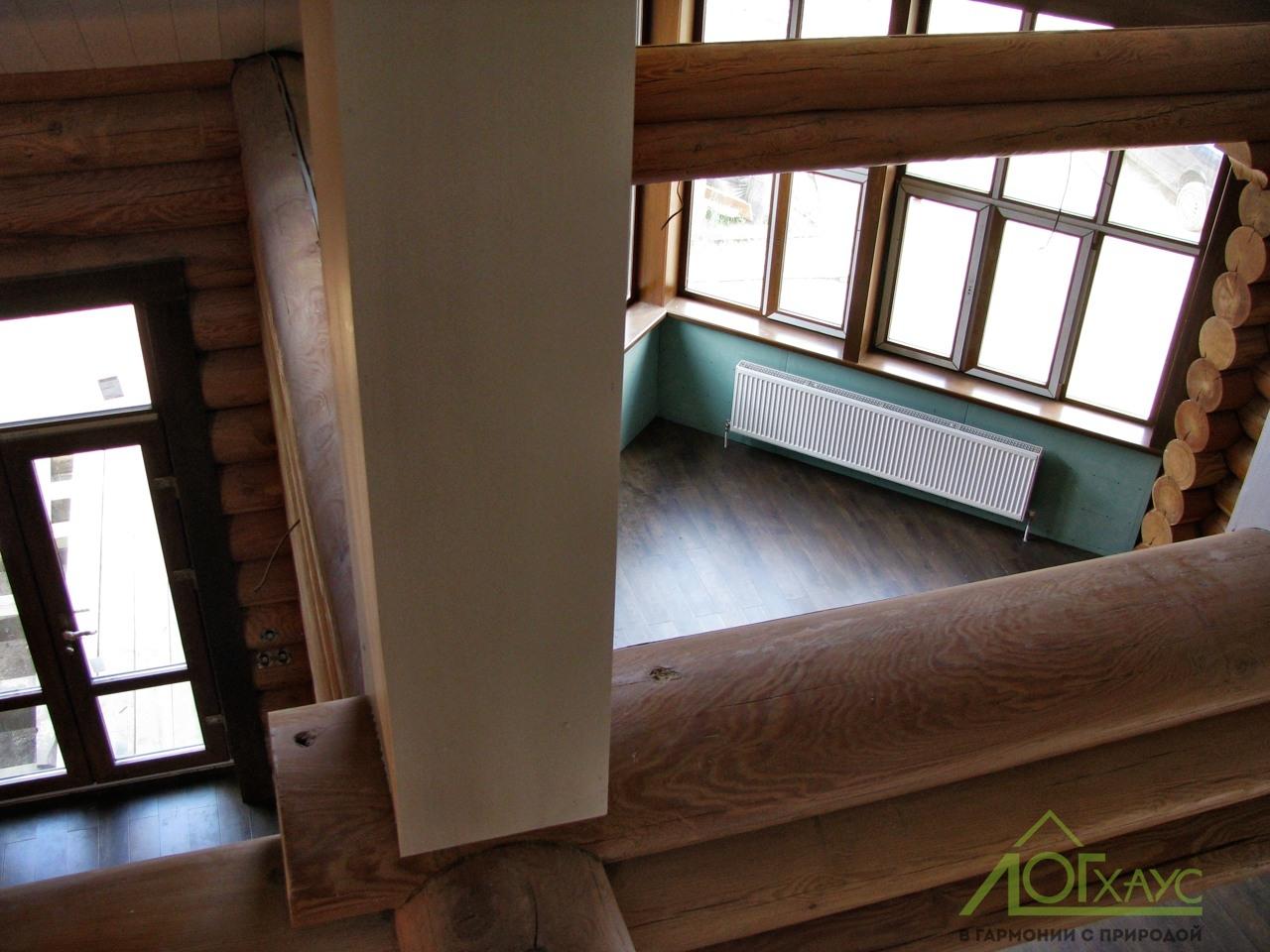Каркасные элементы бревенчатого дома