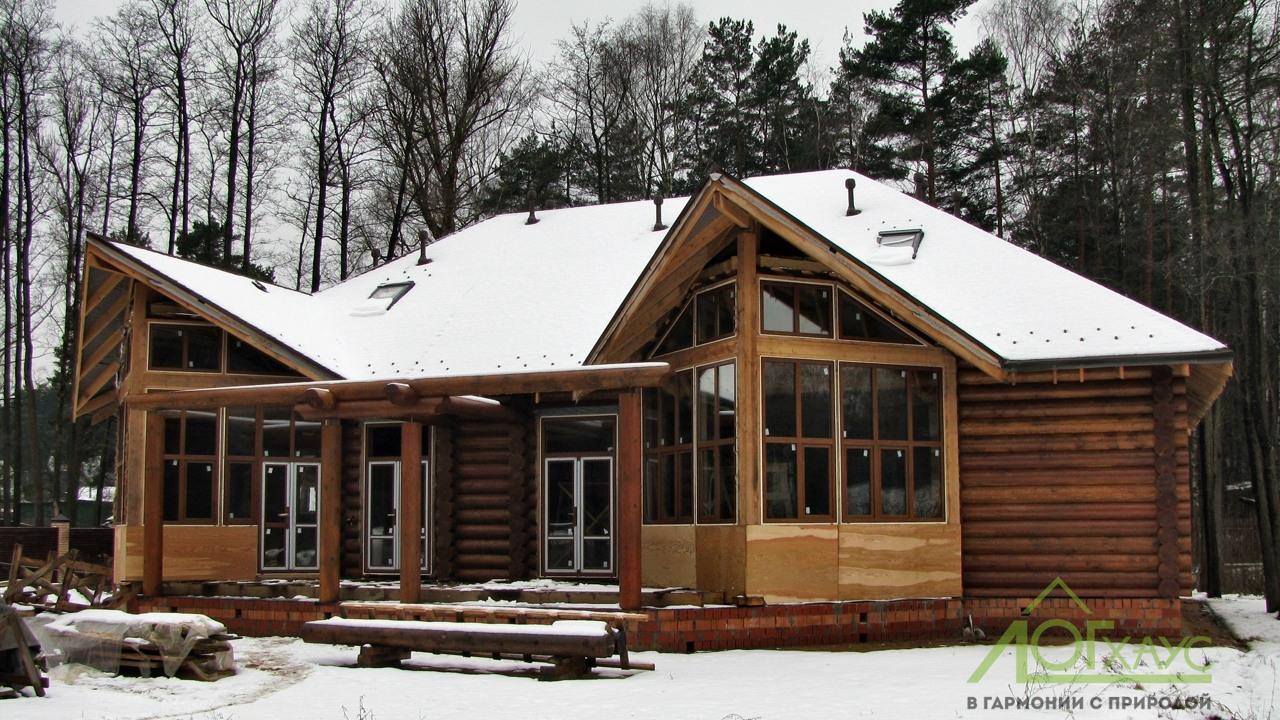 Строительство деревянного дома по индивидуальному проекту