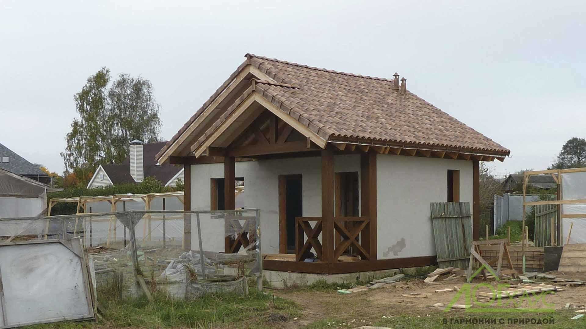 Фахверковый дом 30 квадратных метров