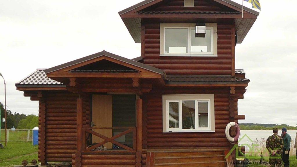 Дом охраны для базы отдыха