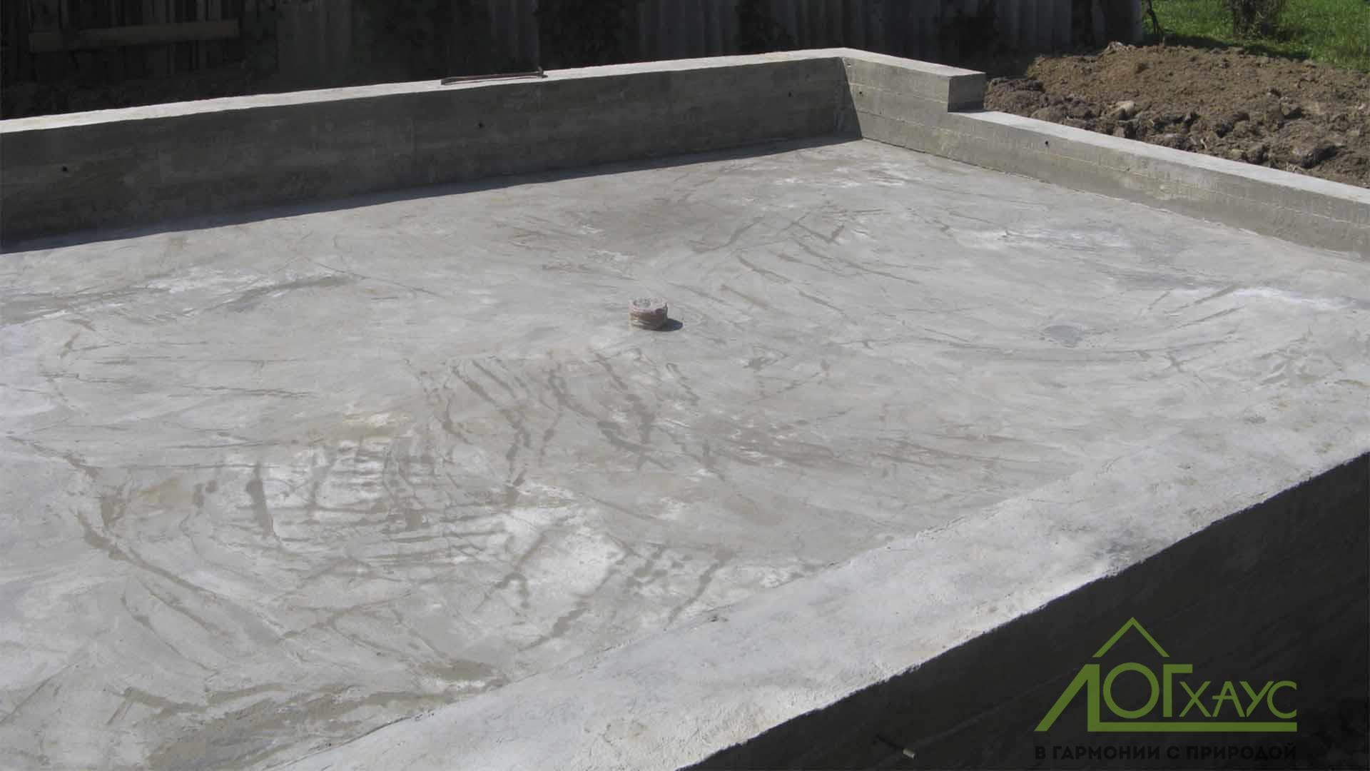 Плита под гараж фундамента